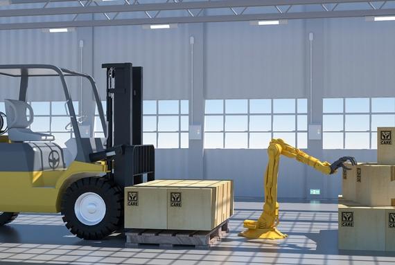机械手将为注塑机自动化做出贡献