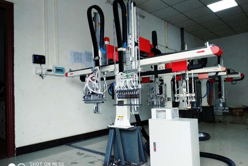 注塑机机械手的控制系统的重要环节