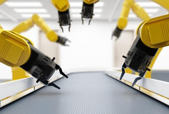 注塑机机械手生产效率的优势